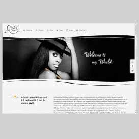 Webdesign - Gladys - www.gladys-mwachiti.de