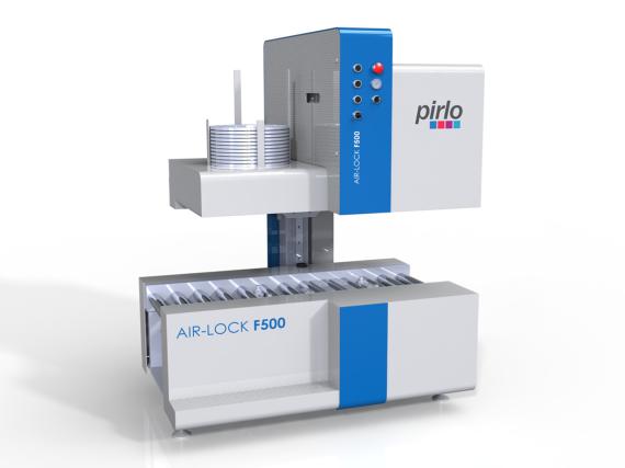 Pirlo GmbH - Air-Lock 500 - Verschlussmaschine